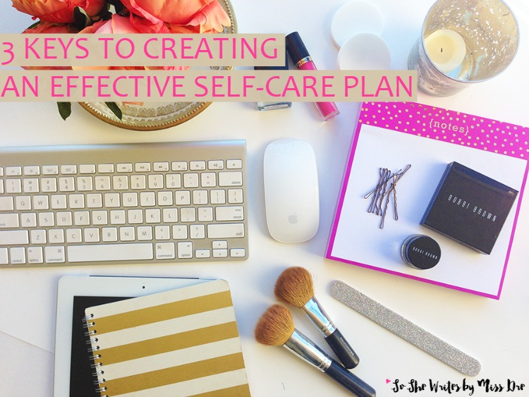 how to create a self care plan