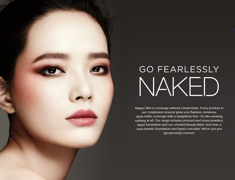 ASIAN MODELS BLOG: AD CAMPAIGN: Li Wei for Urban Decay Naked, Spring/Summer  2015