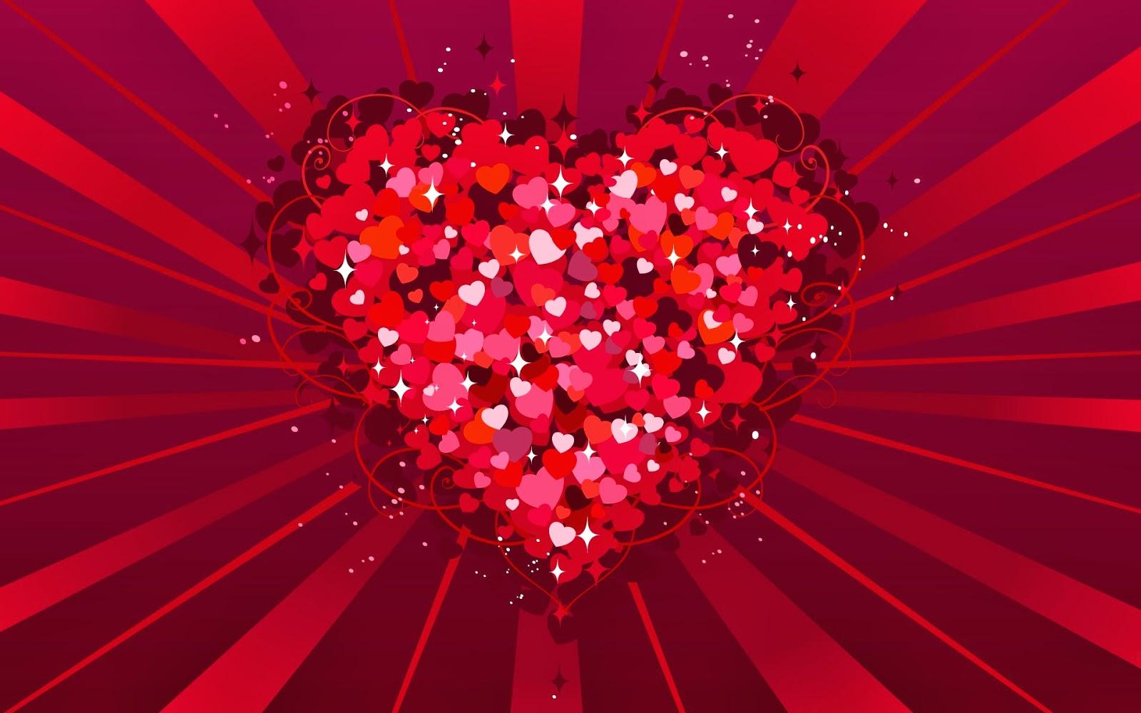 Fondos De Pantalla Animados De San Valentín: Fondo De Pantalla Dia De San Valentin Corazones Rojos
