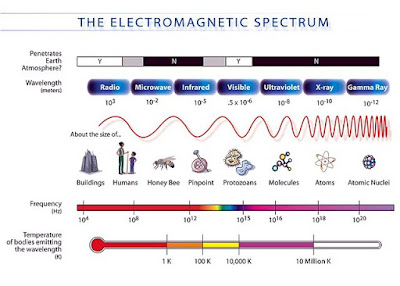 Class 12 - Physics - ELECTROMAGNETIC WAVES AND OPTICS - About Electromagnetic Spectrum?  (#cbsenotes)(#eduvictors)