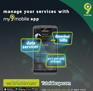 How to Get Free 200mb On 9mobile