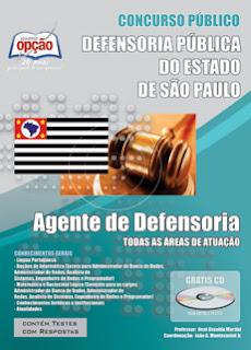 Apostila concurso DPE-SP Agente de Defensoria