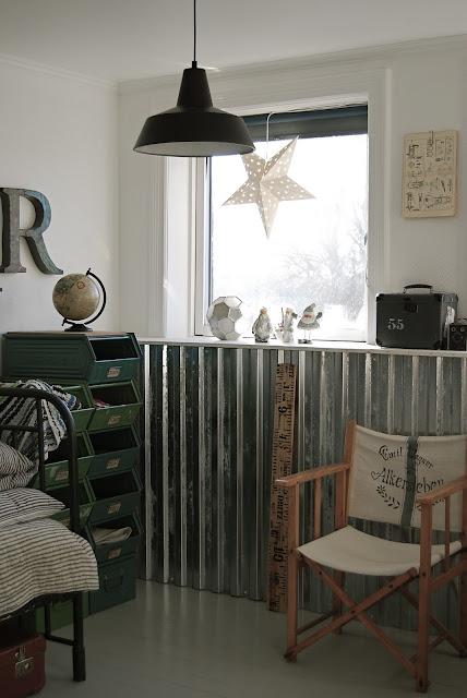 Rusted Sheet Metal Home Decor
