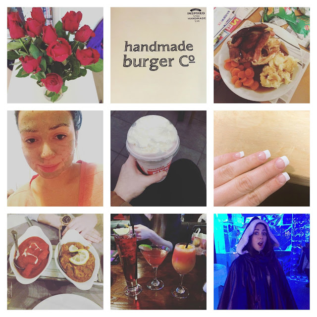 photo, diary, January, February, five guys, lush, lobdon, TGI fridays, ice bar, homemade burger co,