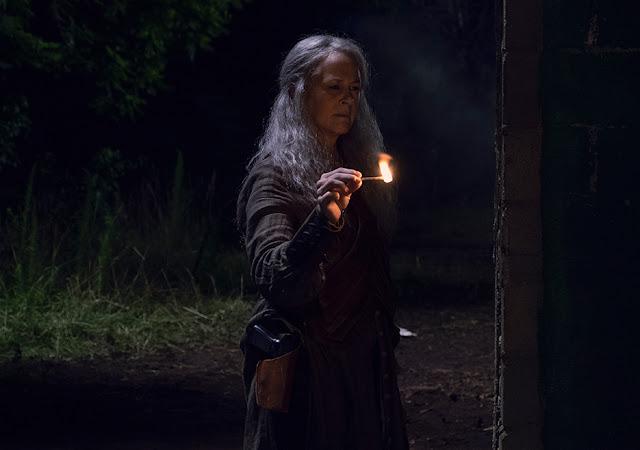 Carol Peletier (Melissa McBride)iell'episodio 6