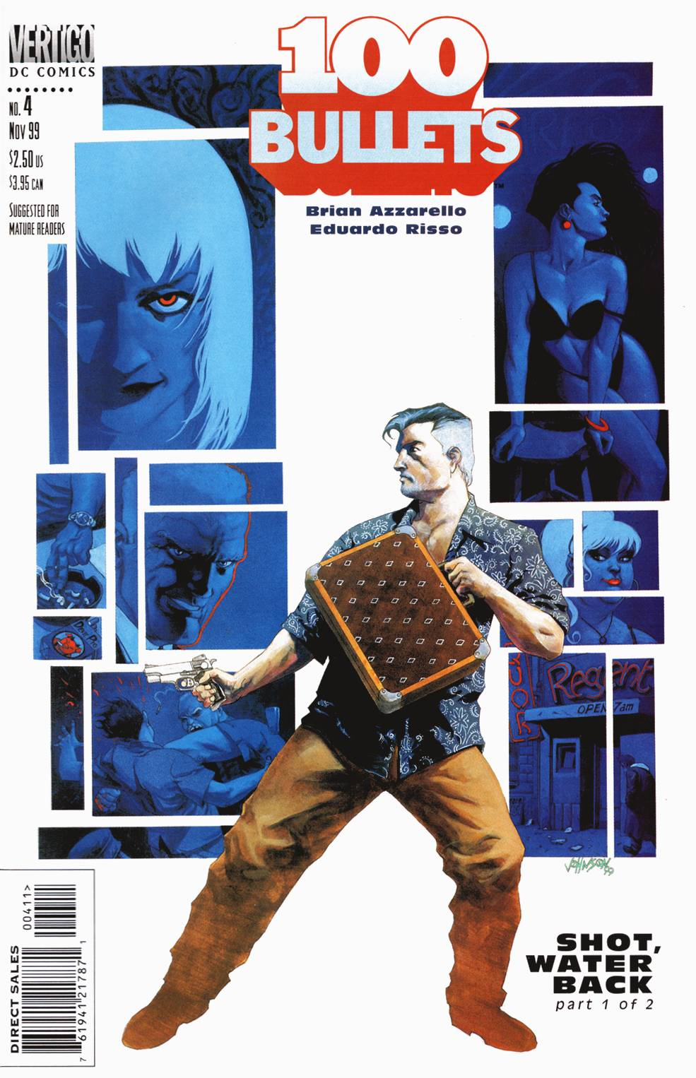 Read online 100 Bullets comic -  Issue #4 - 1