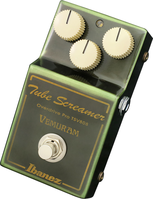 The Ugly Guitar Truth: NAMM 2019: Ibanez TSV808 Vemuram Tube
