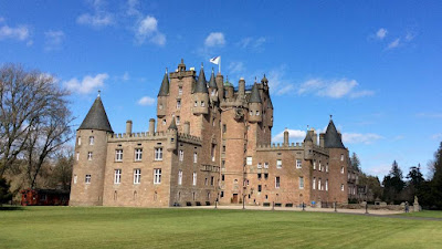 Glamis Castle - Picture by Castleview B&B in Dufftown