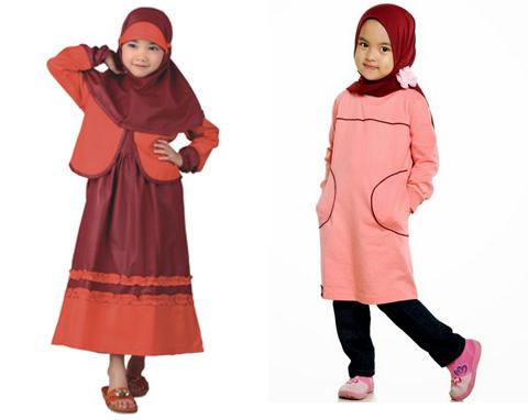 model baju muslim anak perempuan