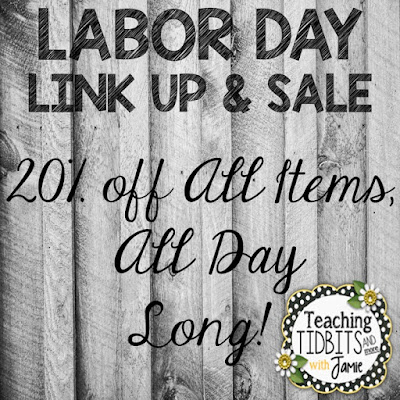 Labor Day Link Up Sale