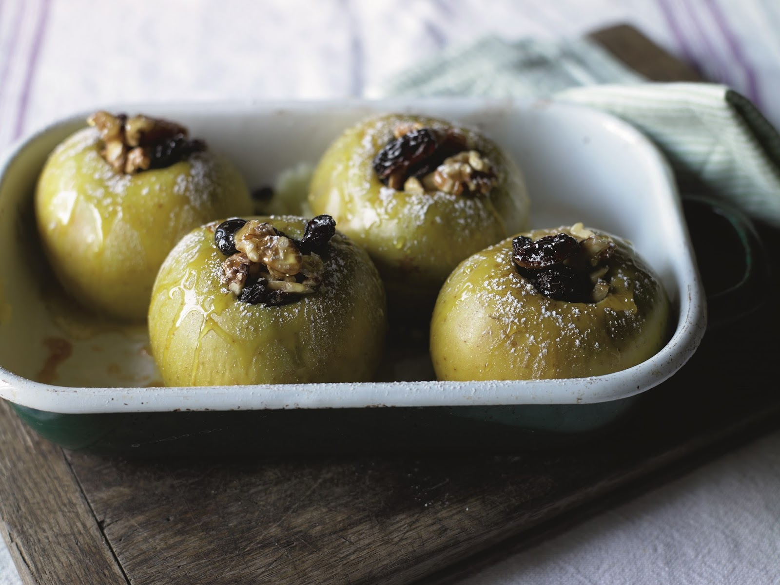 Apples Baked With Fruit And Nuts...