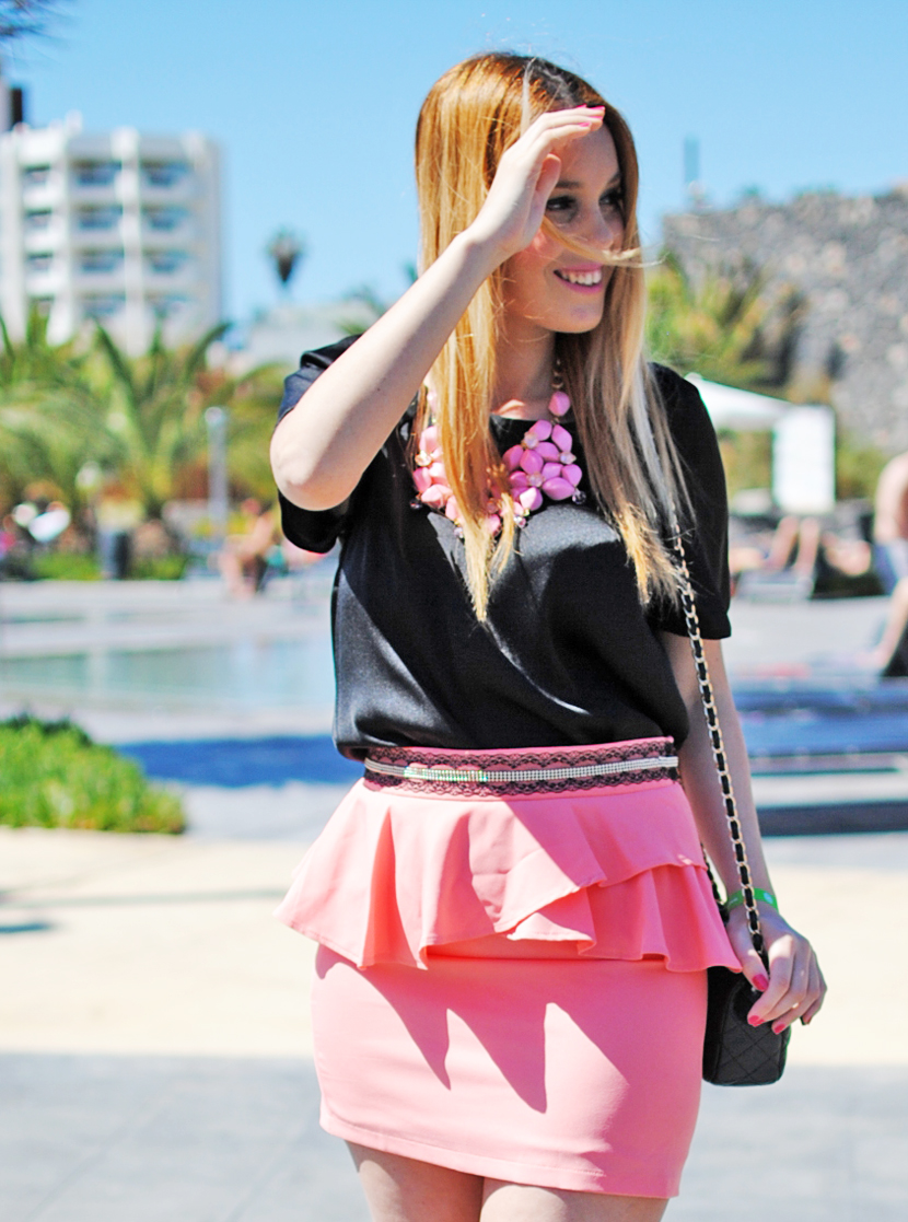 PEPA LOVES, TERIA YABAR, NERY HDEZ, PINK, BAG INPIRATION CHANEL