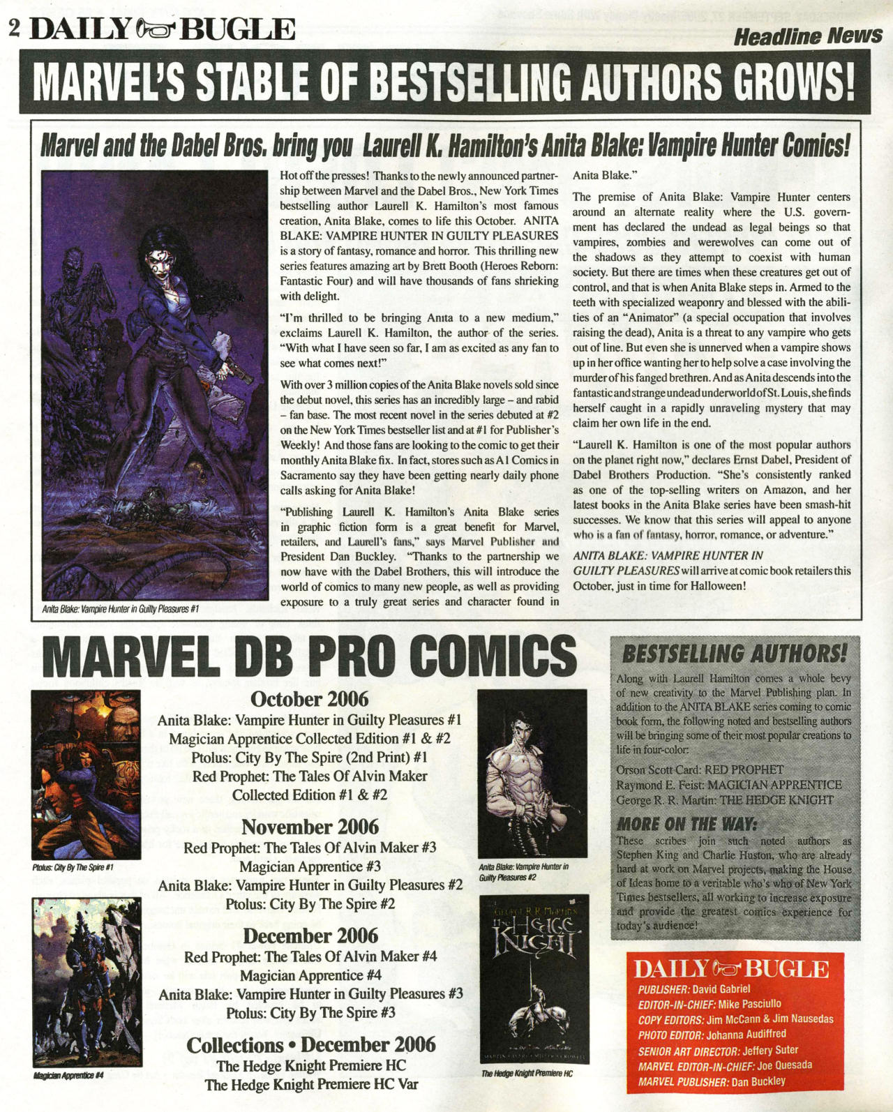 Read online Daily Bugle (2006) comic -  Issue #1 - 3