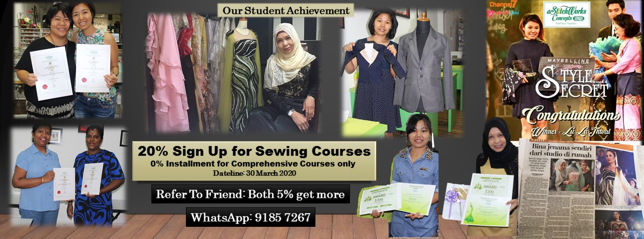 ASTITCHWORKS FASHION SEWING INSTITUTE