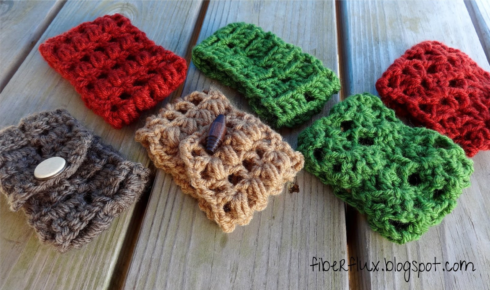 Fiber Flux: Free Crochet Pattern...Coffee Cowls Trio!