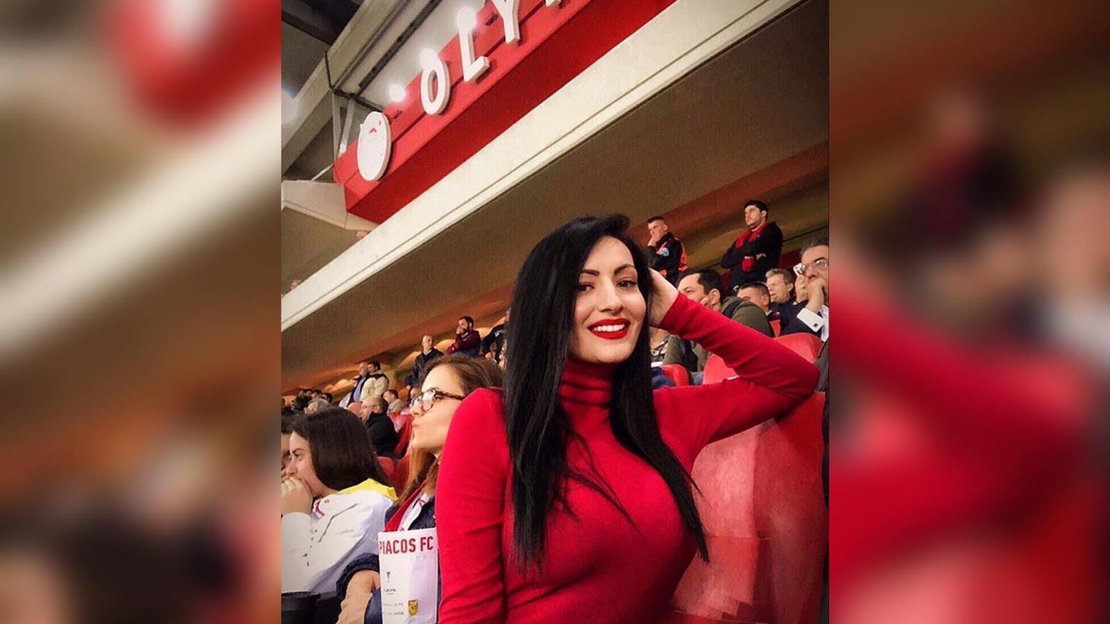 """Ιωάννα Αλεξανδρή: """"Ολυμπιακός.. ο πρωταθλητής της καρδιάς μου"""""""