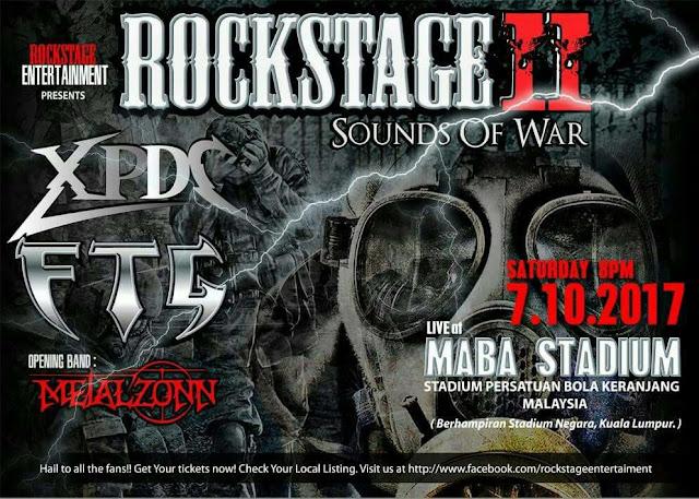 Event Konsert Rockstage 2 FTG XPDC | 07Oct2017