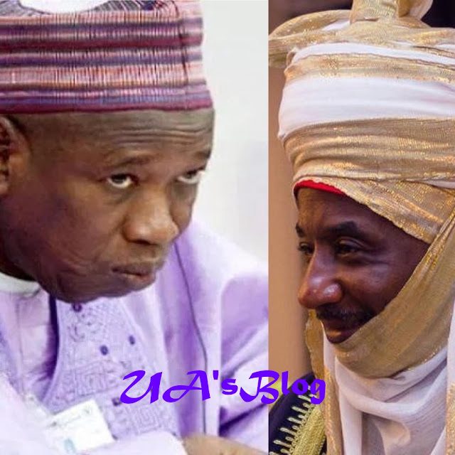 Emir Sanusi Jets Out Of The Country As Ganduje Orders Probe Of His Kingdom