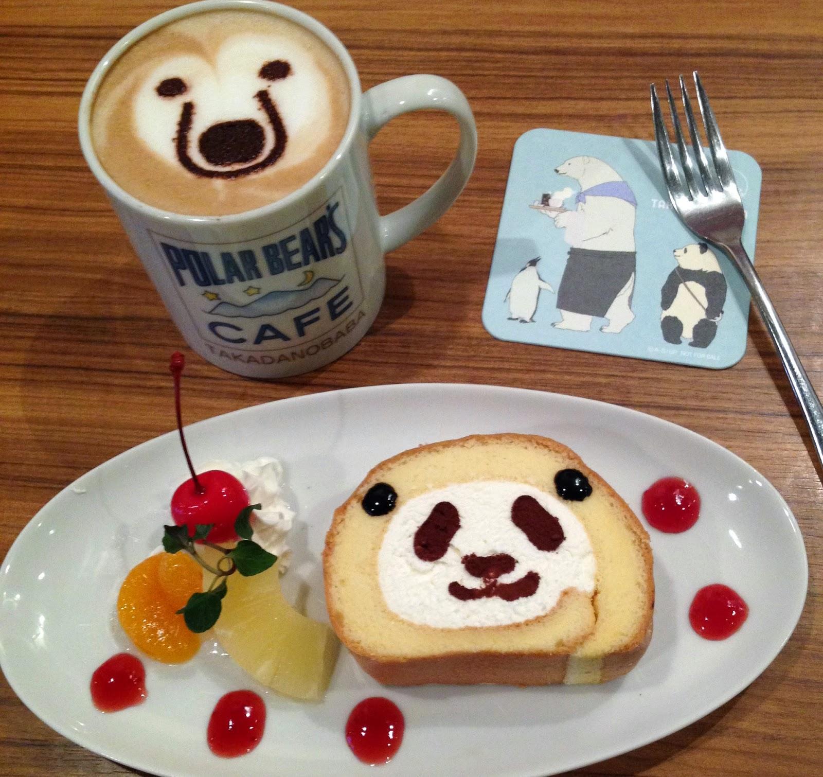 polar bear cafe tokyo