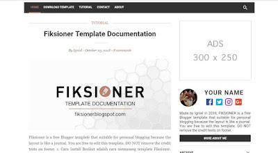 Template Blogger Gratis dari Igniel