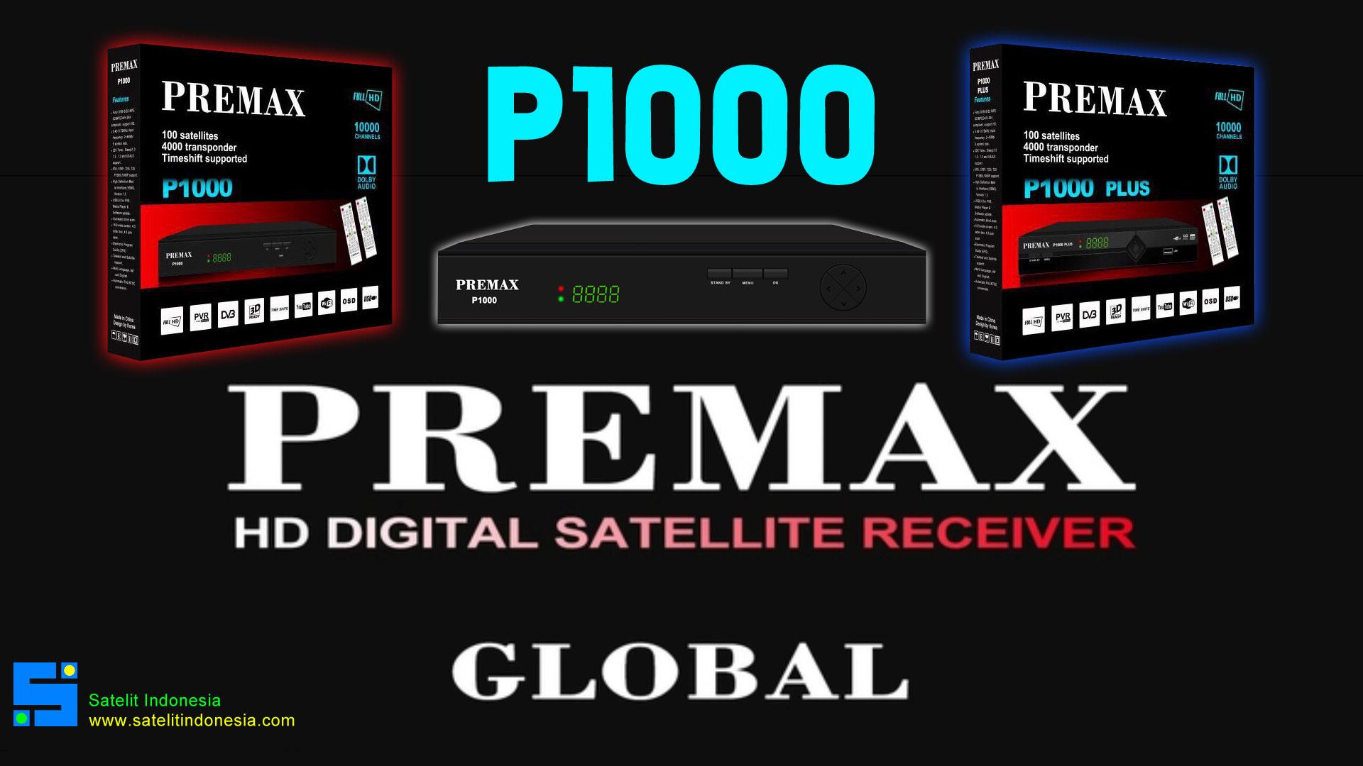 Software Premax P1000 New Update Firmware Receiver