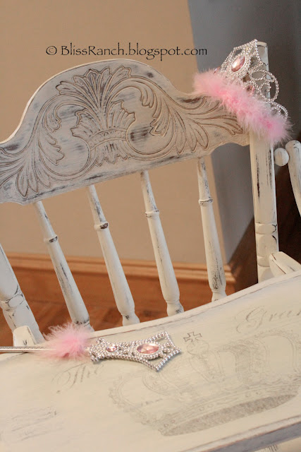 Bliss Ranch Done High Chair Chalk Paint Makeover
