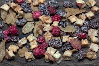 La fruta desecada es deliciosa, versátil y saludable