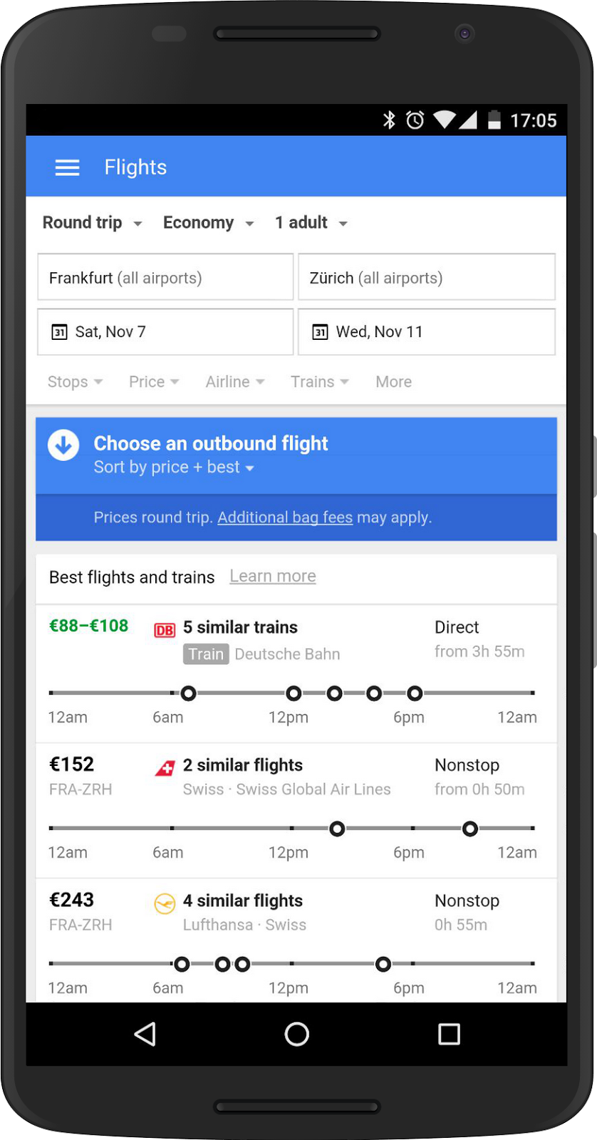 Google Flights Google Travel Google Adds Trains To Google Flights In Europe