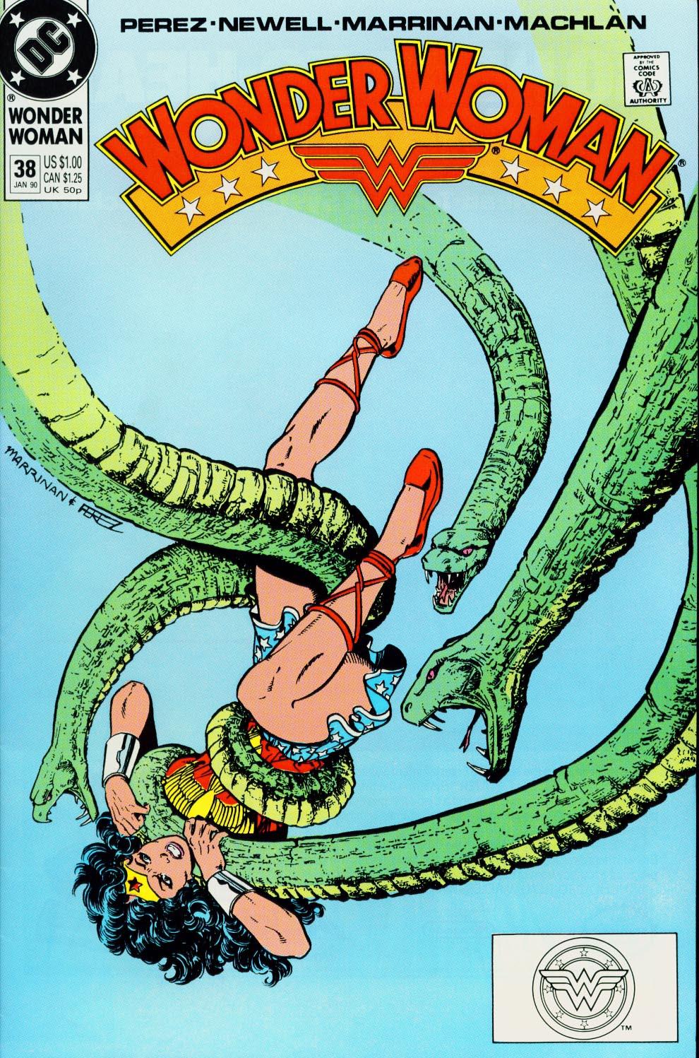 Read online Wonder Woman (1987) comic -  Issue #38 - 1