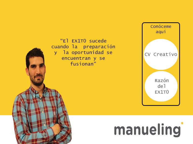 Curriculum de Manuel Pérez Cardona