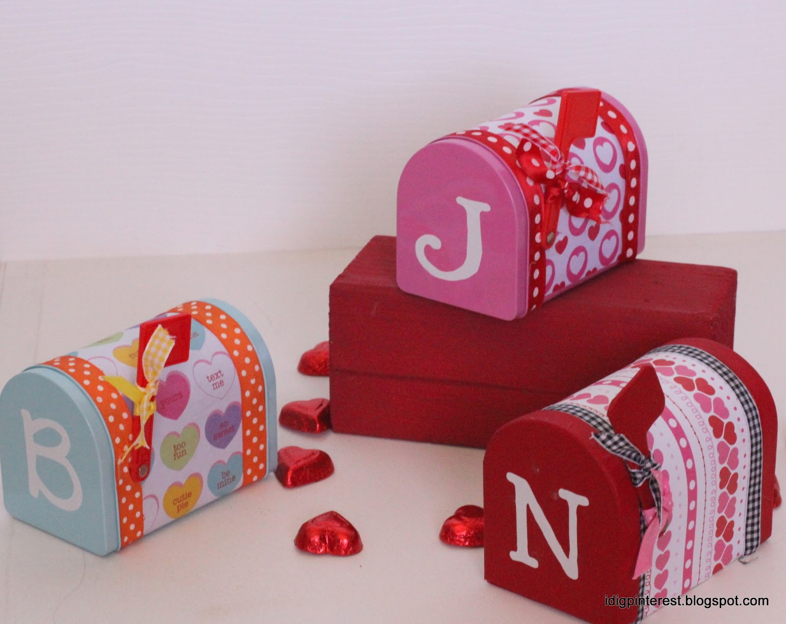 Valentine S Idea Week Day 5 Mailboxes Re Visited And Crochet Heart