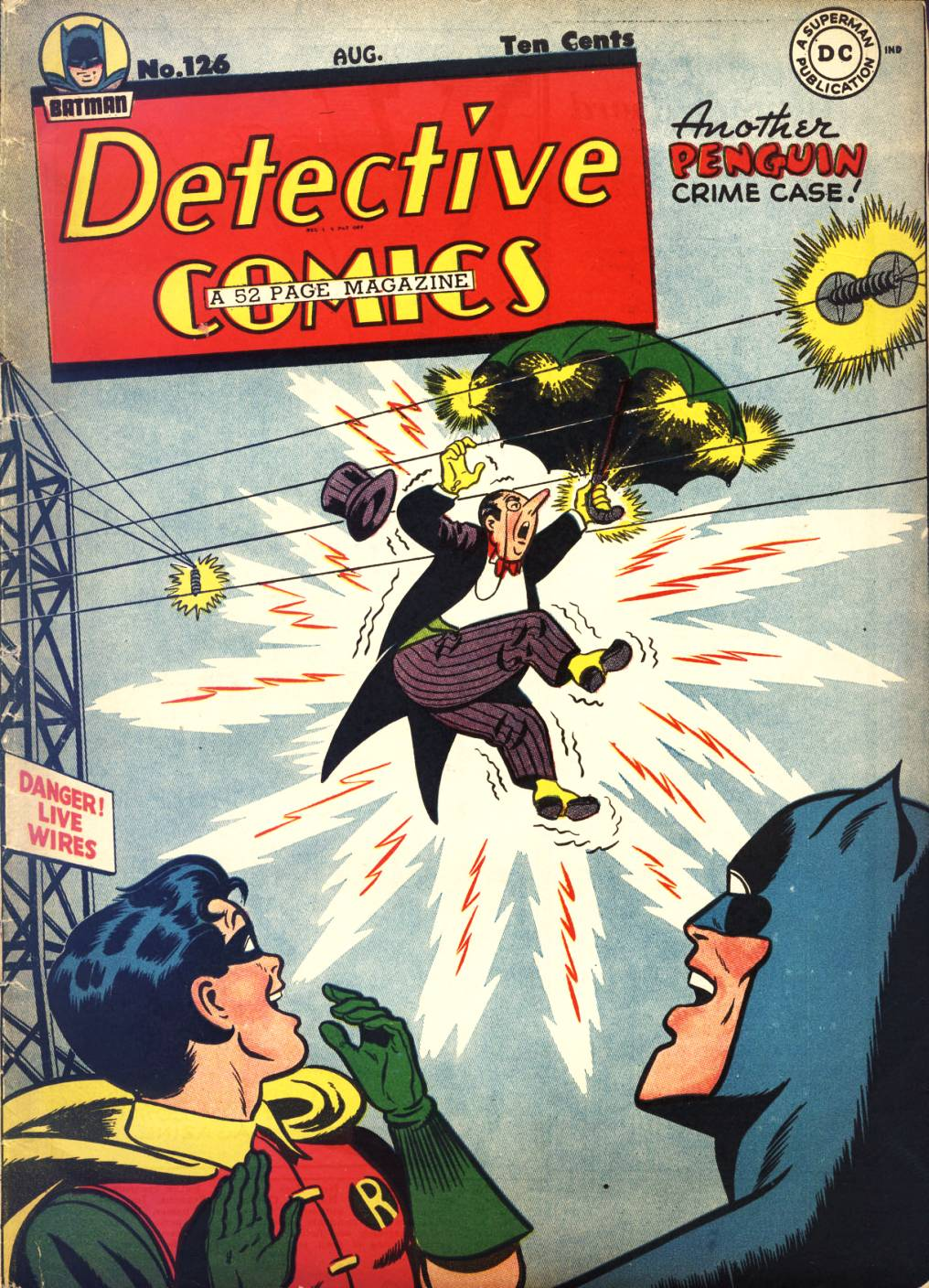 Read online Detective Comics (1937) comic -  Issue #126 - 1