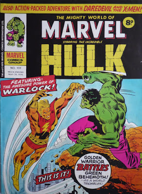 Mighty World of Marvel #191, Adam Warlock