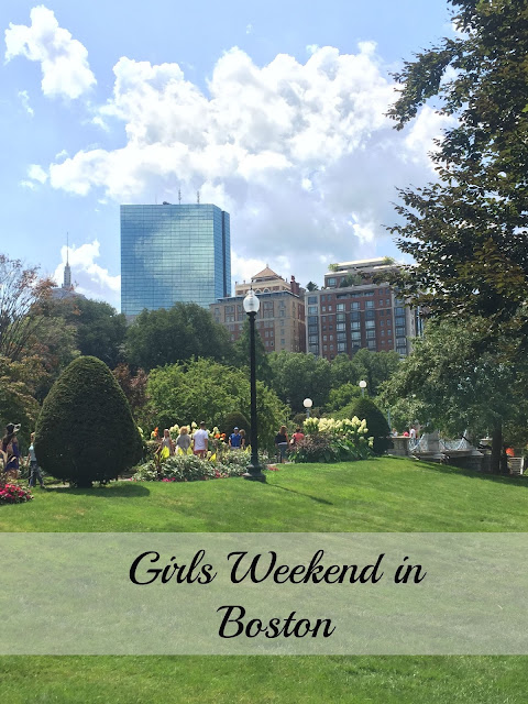 Girls Weekend in Boston