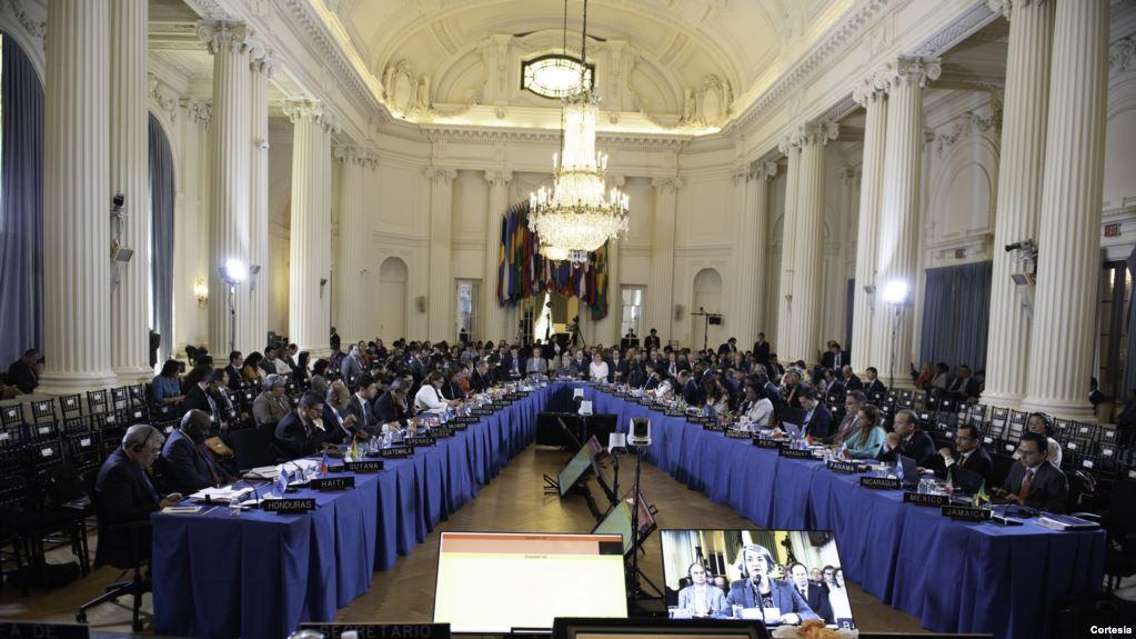 Solo 4 países se opusieron a la resolución de condena a Venezuela, entre ellos Bolivia / VOA