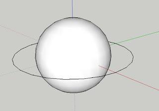 tutorial cara membuat bola di sketchup