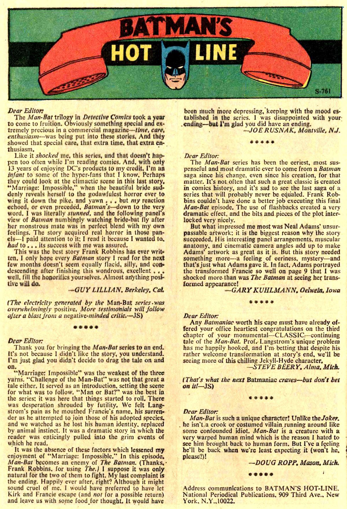 Detective Comics (1937) 411 Page 31