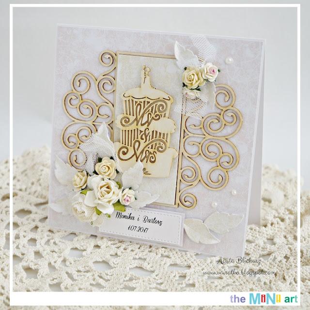 Ślubna w bieli