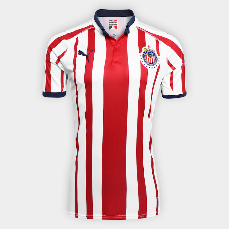 new products 296a1 39dd6 Chivas 2018-19 Home & Away Kits Released - Footy Headlines