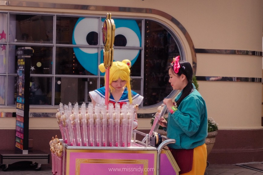 SAILORMOON MERCHANDISE AT UNIVERSAL STUDIO JAPAN