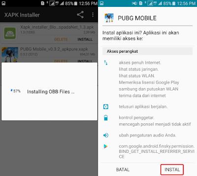 Cara Install PUBG Mobile (Global) di Android 4
