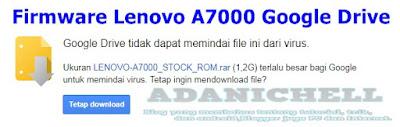 Firmware Lenovo A7000 Google Drive