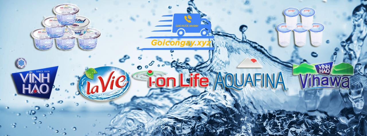 Cung cấp nước sạch giao nhanh miễn phí tại TPHCM