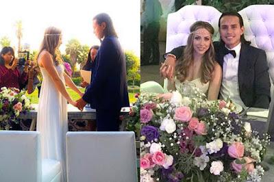 El futbolista Jerry Flores Se Casa Con Gaby Sanchez Ex Timbiriche