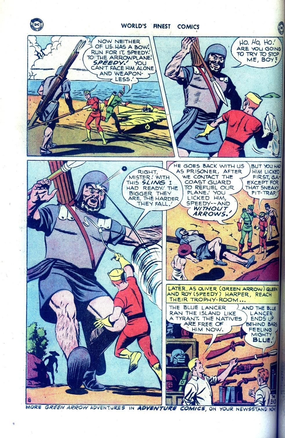 Read online World's Finest Comics comic -  Issue #43 - 48