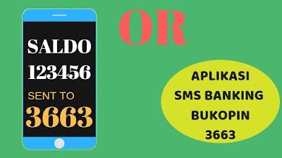 Cara daftar sms banking bukopin