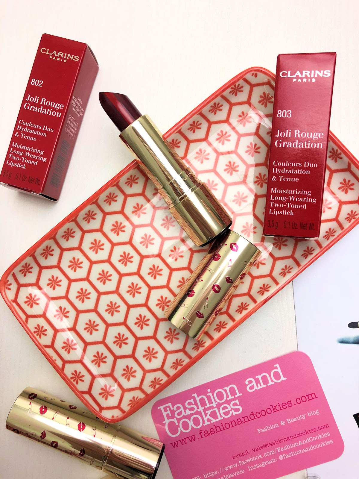 Clarins Joli Rouge & Black collezione makeup edizione limitata per l'Autunno su Fashion and Cookies beauty blog, beauty blogger