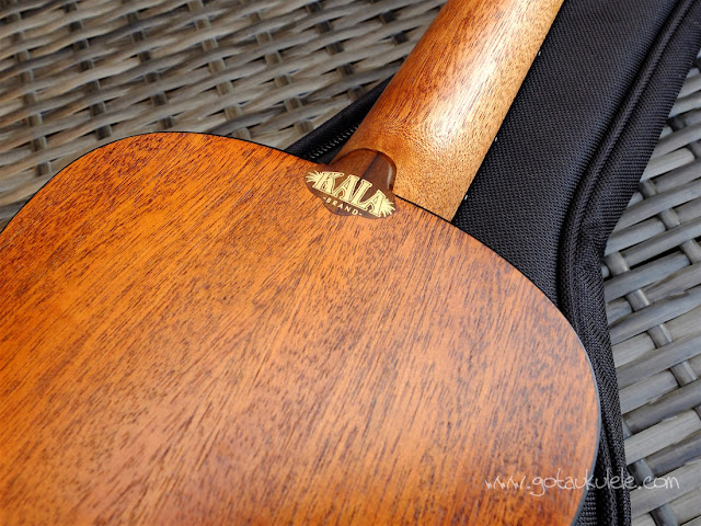 Kala KA-SSTU-C ukulele neck heel logo