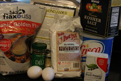 gluten free homemade matzo / matzah ball ingredients from ayearofslowcooking.com