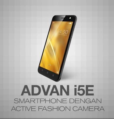 Harga HP Advan i5E Tahun 2017 Lengkap Dengan Spesifikasi 4G LTE Rp. 1.425.000 an